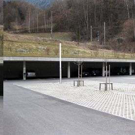 Parking de La Loutze - Sembrancher